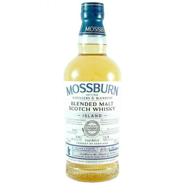 "Mossburn Island ""Smoke and Spice"" Cask No. 1 46% Vol."