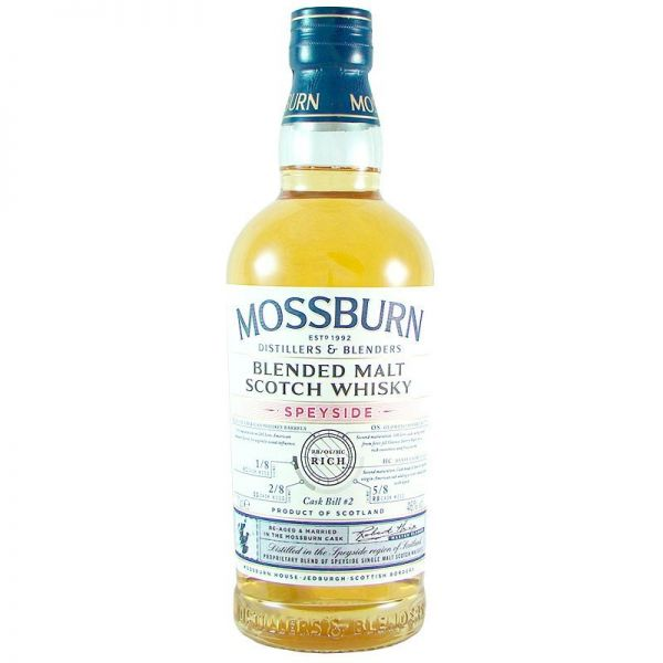 "Mossburn Speyside ""Rich"" Cask No. 2 46% Vol."